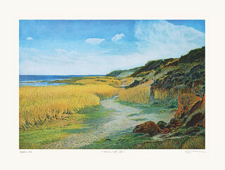 """Bild """"Morsumer Kliff, Sylt"""" (2016), ungerahmt"""