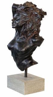 """Skulptur """"La Greca"""", Version in Kunstbronze"""