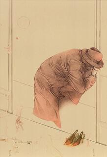 "Bild ""Portiere di notte"", ungerahmt"