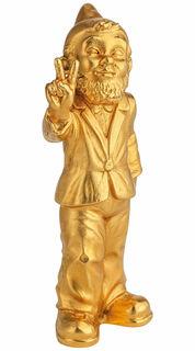 """Skulptur """"Victory"""", Version vergoldet"""