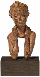 """Skulptur """"Zuversicht"""", Bronze"""