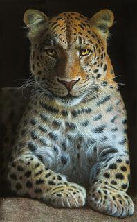 "Bild ""Leopard"", auf Keilrahmen"