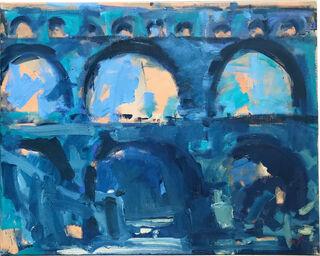 "Bild ""Pont du Gard"" (2007) (Unikat)"