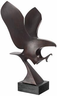 """Skulptur """"Eleganz (Adler)"""", Bronze"""