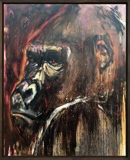 "Bild ""Gorilla_23"" (2016/19) (Unikat)"