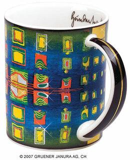 "Magic Mug ""Window's homesickness"" - Heimweh der Fenster, Porzellan"
