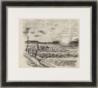 "Bild ""Kartoffelernte"" (1930) (Unikat)"