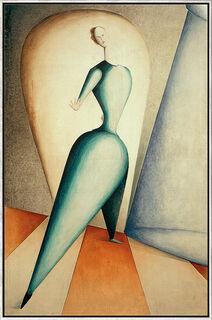 """Bild """"Die Tänzerin"""" (1922), gerahmt"""