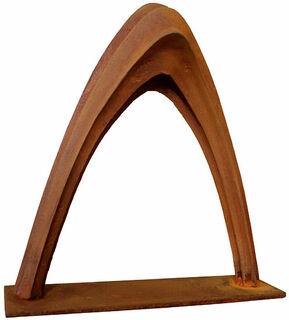 """Skulptur """"Porta"""" (2012), Eisen"""
