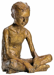 """Skulptur """"Paul"""", Bronze"""