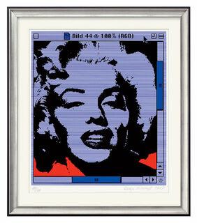 "Bild ""Marilyn # 44"" (2003), gerahmt"