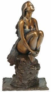 """Skulptur """"Sentiment"""", Bronze"""