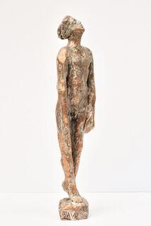 "Skulptur ""Pina-Vollmond"" (2019), Bronze"