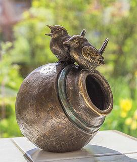 "Skulptur ""Spring Melody"", Version in Bronze"