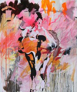 "Bild ""Informal Cow"" (2011) (Unikat)"