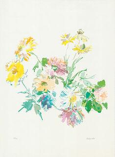 """Bild """"Herbstblumen"""" (1975), ungerahmt"""