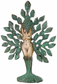 """Skulptur """"Tree of Life"""", Version in Bronze"""
