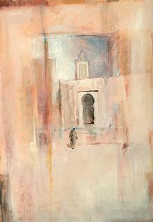 """Bild """"Erinnerungen an Tunis"""", auf Keilrahmen"""