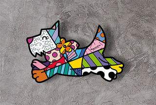 "Art Panel / Wandobjekt ""Dog"""